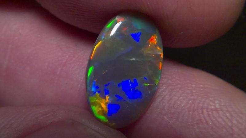 3.73cts Top Gem Lighting Ridge Black opal Collection CYC721