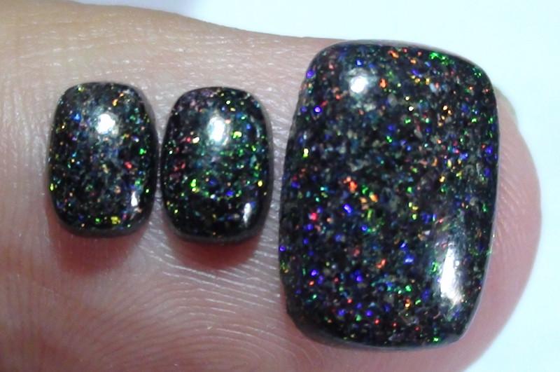 5.10 ct Beautiful Multi Color Fairy Opal Set