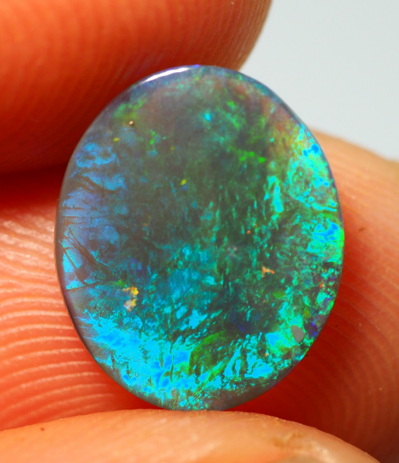 1.25CT  CRYSTAL OPAL FROM LIGHTNING RIDGE AA493