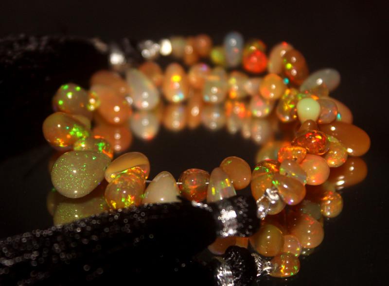 Natural Ethiopian Welo Opal Drops 25