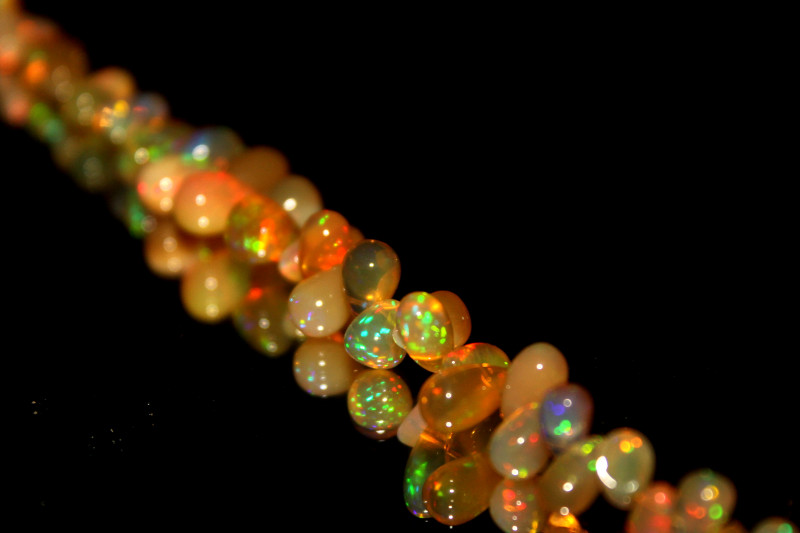 Natural Ethiopian Welo Opal Drops 15