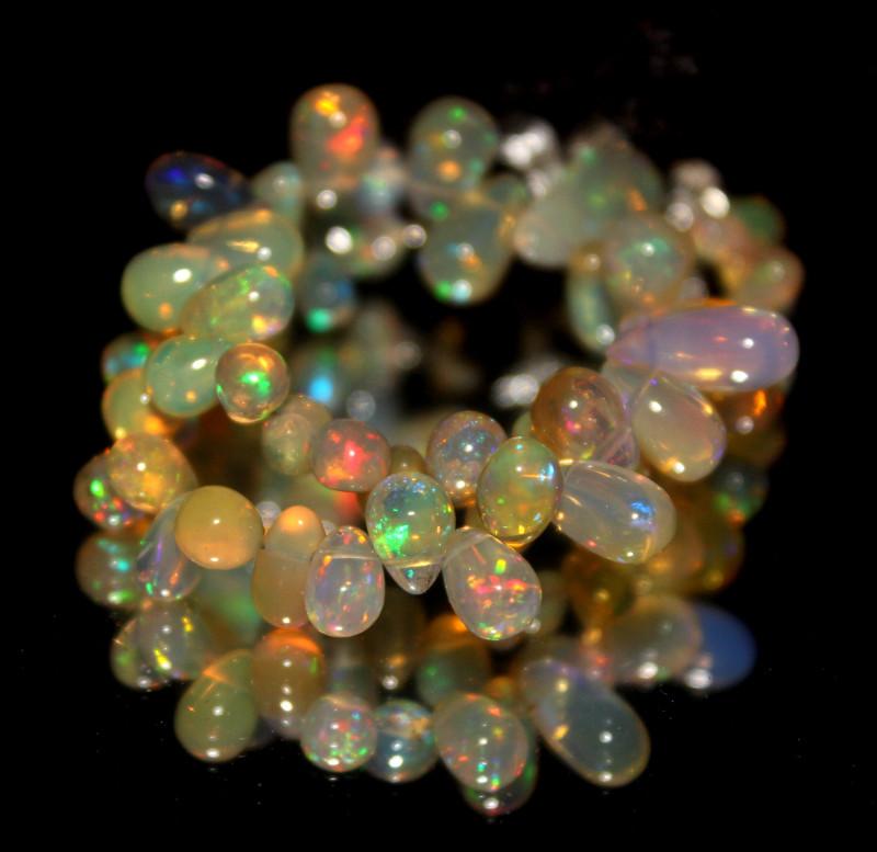 Natural Ethiopian Welo Opal Drops 11